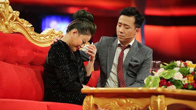Lê Giang khóc khi chia sẻ với Trấn Thành trong Sau ánh hào quang