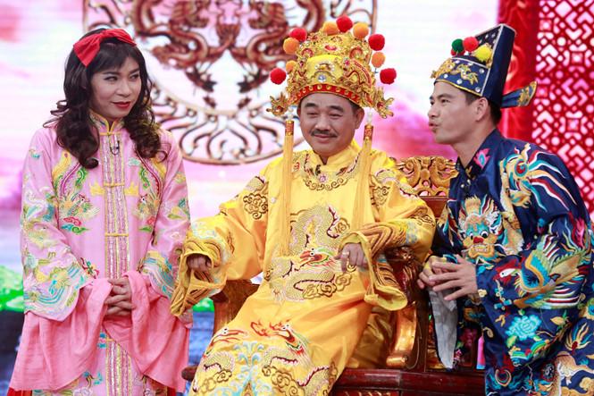 Công Lý, Quốc Khánh và Xuân Bắc là ba nghệ sĩ chủ chốt của các chương trình 'Táo quân' hằng năm