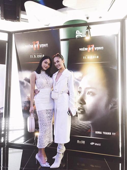 Thanh Tú và Rima Thanh Vy đều trưởng thành từ các cuộc nhi nhan sắc