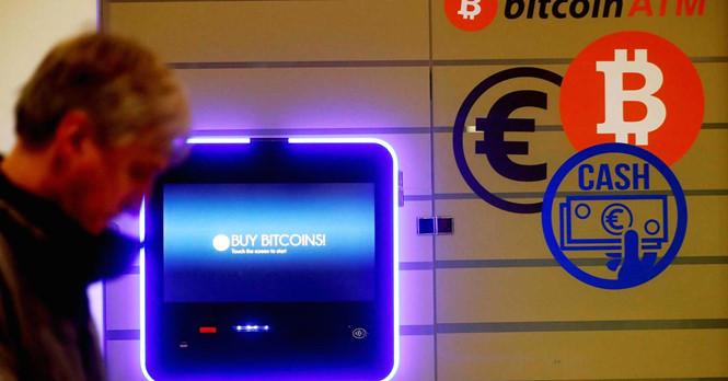 ATM bitcoin ở Vilnius (Lithuania)