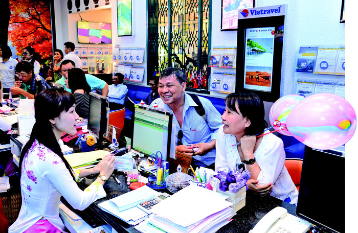 850.00 lượt khách đồng hành với Vietravel năm 2017