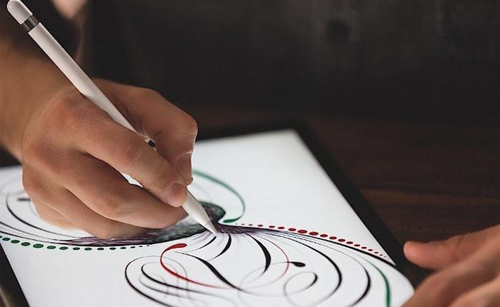 Apple trình làng iPad mới giá rẻ, hỗ trợ bút cảm ứng Pencil
