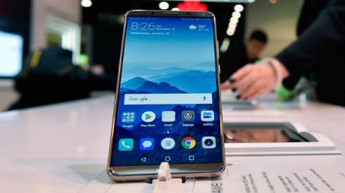 Điện thoại Huawei vẫn có thể mua được trên Amazon và New Egg