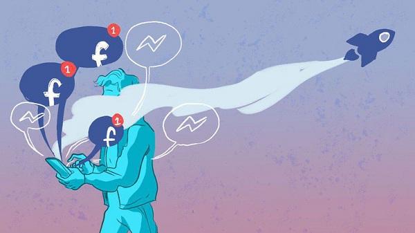 Minh họa về Facebook