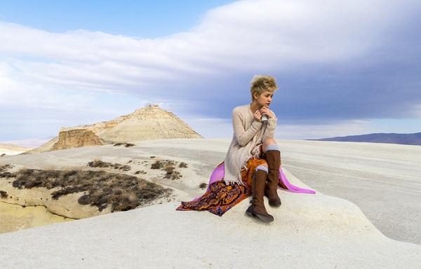 Nữ du khách Việt tại Cappadocia (Thổ Nhĩ Kỳ)