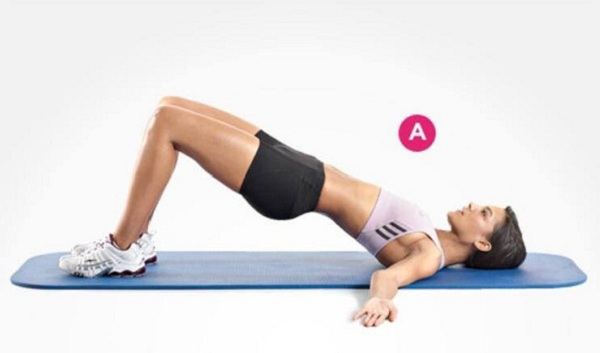 Bài tập thể dục tại nhà giúp bạn sở hữu thân hình hoàn hảo