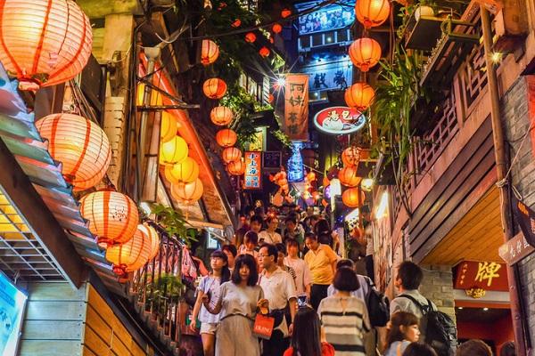 Đường phố ở Tân Bắc, Đài Loan