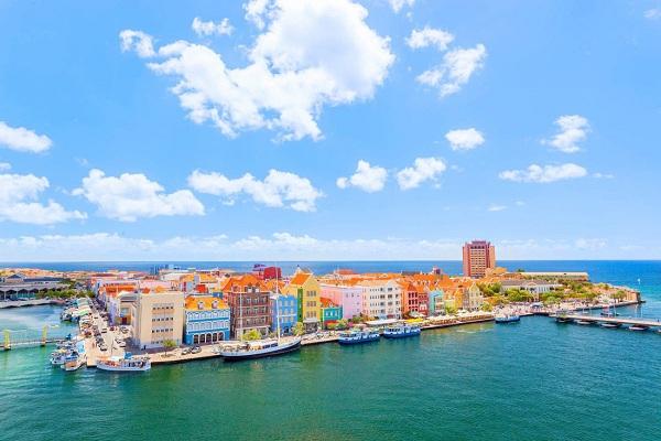 Curacao nhìn từ trên cao