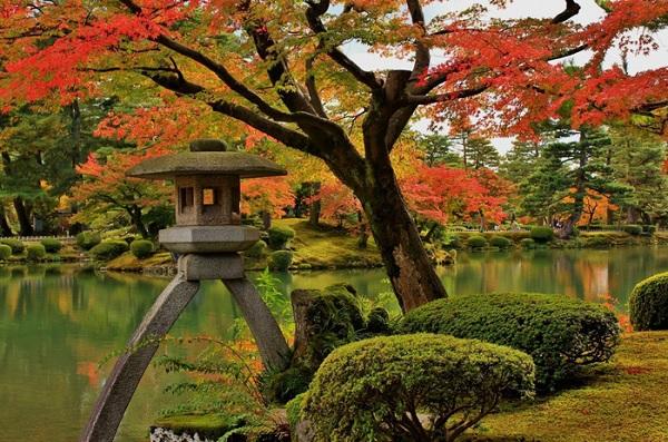 Nagano (Cây bắt đầu nở những bông đầu tiên vào 6-4. Thời điểm ngắm hoa đẹp nhất từ 10-4 đến 18-4)