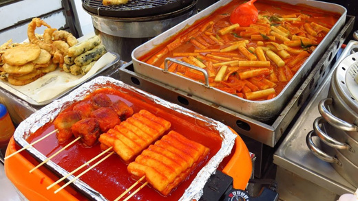 Các món ăn Hàn Quốc có màu đặc trưng
