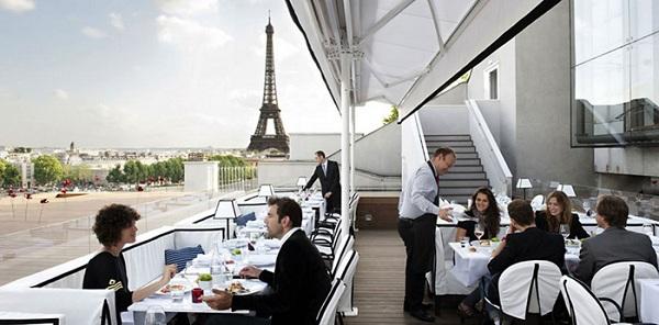 Nhà hàng Maison Blanche, Pháp